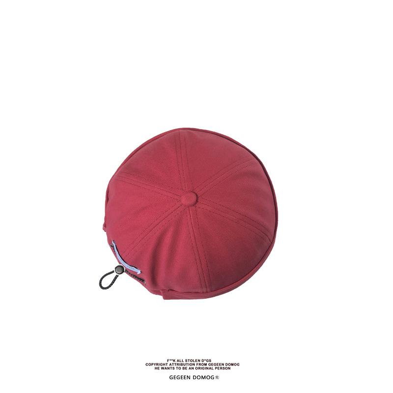 Autumnwinter yuppie hat hooligan beanie hat (10)