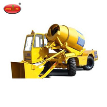 Self Loading Mobile Concrete Mixer Machine Price