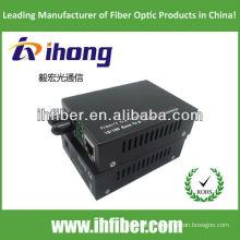10 / 100M fibre optique compteur de médias multimode double fibre ST port