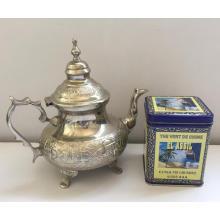 chá verde extra china 41022 para o mercado da Argélia por preço com 250g de estanho