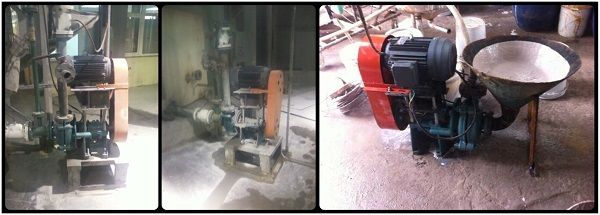 Building blocks slurry pumps