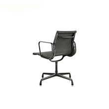 Mesh Aluminum Legs Group Office Conference Armchair