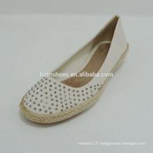 Chaussures de toile causales élégantes élégantes