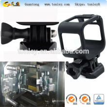 plastic mould for Gopro4 standard frame, with pedestal and long screw design