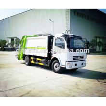 RHD 5CBM 4X2 Dongfeng Garbage Truck / camión de eliminación de residuos / camión de recolección de basura / camión de basura / compactador de basura / cubo de basura