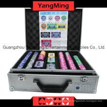 Conjunto de fichas de pôquer de adesivo (760PCS) Ym-Mgbg002