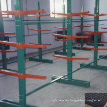 Powder Coating Warehouse Adustable Heavy Duty Cantilever Racking