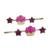 fashion mini pink hair pins