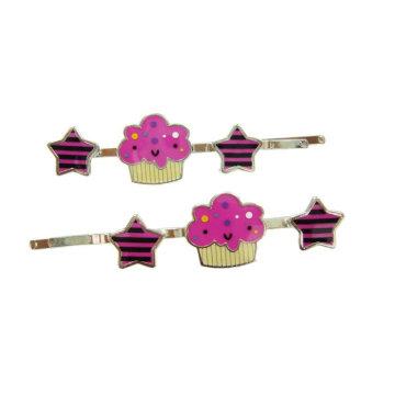 Мини-розовые волосы