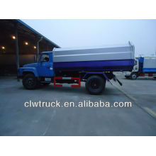 DFAC 10m3 dump garbage truck with hanging garbage can