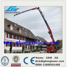 Knuckle & Telescope Boom Truck Mounted Crane, grue mobile