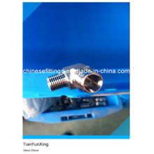 Male Threaded Stainless Steel Forged Reducing Union Elbow