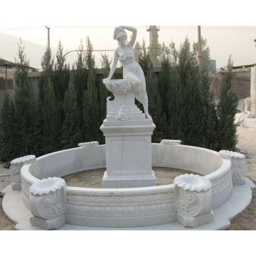 Stone Carving Garden Fountain