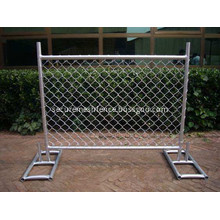 Heavy-Duty Portable Chain Link Fence Panels