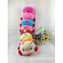 Plush Stuffed Toy Soft Caterpillar Colourful for Gift