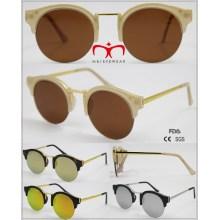 2016 Neue modische Half Rim Sonnenbrille Unisex Gläser (wSP601521)