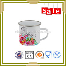 450ml Enamel drinkware masturbate soft tube coffee cup