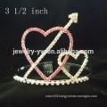 wholesale hair accessories crystals heart shape frozen headband