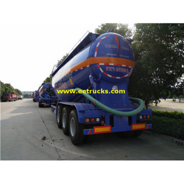 Tri-axle 10000 Gallon Bulk Grain Remolques