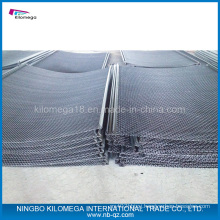 High Tensile Screen Cloth with Sheathed Hooks