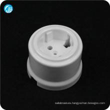 European white alumina ceramic wall socket lamp parts 95