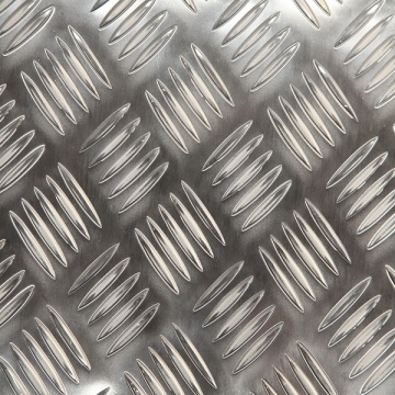 Brushed Aluminum Checker Plate Metal Made