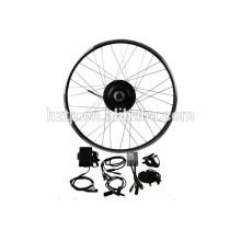 Kit de conversión de bicicleta E, 24V 36V 48V fácil montar bicicletas eléctricas kit de conversión de bicicleta