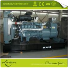 Германия оригинальный двигатель D2866LE201 комплект генератора 350kva человек генератор двигатель