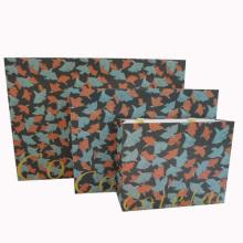 Bolso de papel de la manija para el embalaje o el hacer compras (SW108)