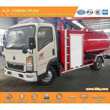 HOWO multifunctional pump fire truck