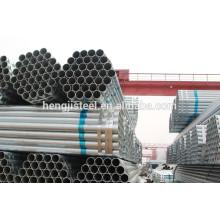 Tubos galvanizados soldados de acero para la industria naval