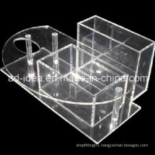 Clear Acrylic Exhibition Stand for Lipstick