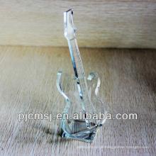 Instrumento de música barato do violino de cristal para presentes de casamento