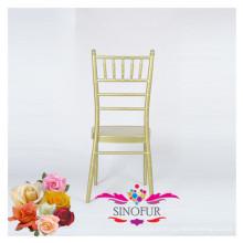 Banquete de casamento ao ar livre cadeira de praia em alumínio