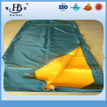 PVC vinyl tarps for truck tarpaulin with eyelets and rope