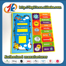 Kids Educational DIY Weather Fridge Magnet Toy