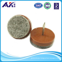 Felt Nail-on Slider Glide Pads for Chairs, Stools & Tables