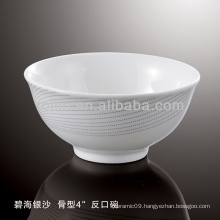 healthy durable white porcelain oven safe silver sand dinnerware