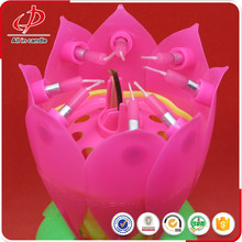 Lotus Candle Cake Decorative Birthday Party Candles
