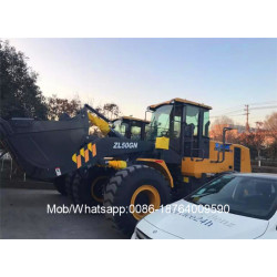 5 Ton Wheel Loader ZL50GN With Rock Bucket