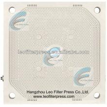 Plaque de presse filtrante à membrane haute pression PP filtre Leo