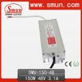 150W 48V 3A LED Driver Fonte de alimentação à prova d'água IP67