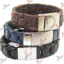 Großhandel Edelstahl gestrickt Armband mit Magnetverschluss (lb15112306)