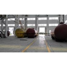 100000L 18bar Hochdruck Carbon Steel Storage Tank für LPG, Ammoniak, Liquied Gas Appoved von ASME