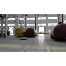 100000L 18bar высокого давления углерода стальной бак для сжиженного газа, аммиака, Liquied газ Appoved по ASME