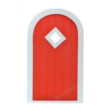 1/12 Scalel Magical Yorktown Door de madera