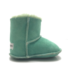 Good Quality for Baby Booties sheepskin leather toddler booties slippers shoes supply to Mexico Exporter