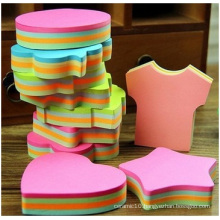 Assorted Die-Cut Sticky Notes, 100sheets. Different Shape for Choice.