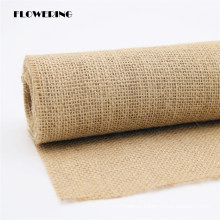 Jute Fabric Ribbon for Packing, Decoration