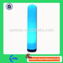 Colonne gonflable gonflable éclairage gonflable pilier gonflable avec led ligh pour la publicité